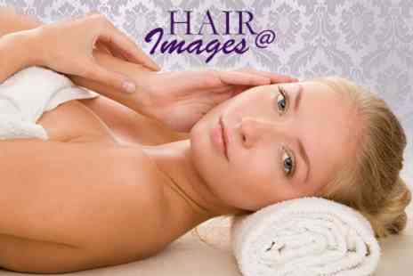 Images Hair and Beauty - 90 Minute Pamper Package Three Options Such as Massage and Facial - Save 58%