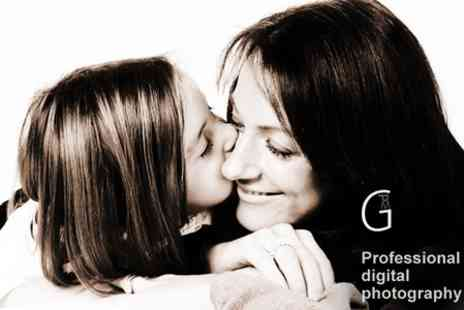 Photo Me Gorgeous - Mother and Daughter Portrait Plus 10�x8� Print - Save 86%
