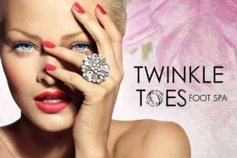 Twinkle Toes Foot Spa - Shellac Mini Manicure and Facial for £19 at Twinkle Toes Foot Spa & Tanning - Save 50%
