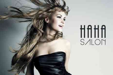 HAHA Salon - Brazilian Keratin Treatment - Save 61%