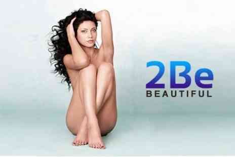 2 Be Beautiful - Six  IPL Hair Removal Sessions on One Medium and Two Small Areas - Save 86%