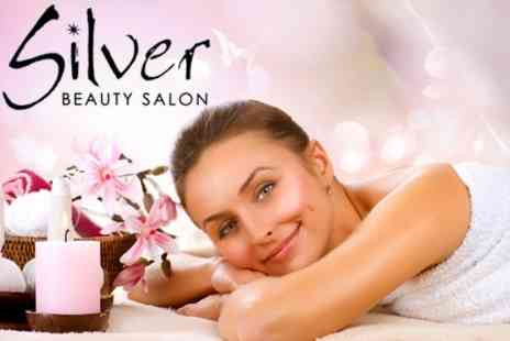 Silver Beauty Salon - Choice of Four Treatments Such as Massage, Waxing, and Body Scrub - Save 60%