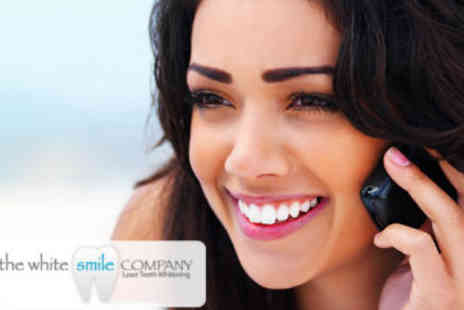 The White Smile Company - Laser Teeth Whitening - Save 80%