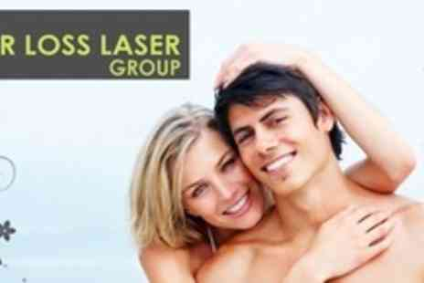 Laser Hair Loss Clinic - Six Month Course of Laser Hair Therapy - Save 65%