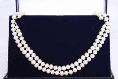 Cartres - Freshwater Pearl Necklace Set - Save 84%