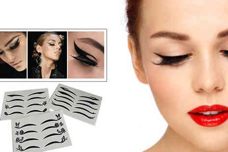 eggsnog - Get that gorgeous look everytime with these temporary eye liner tattoos - Save 50%