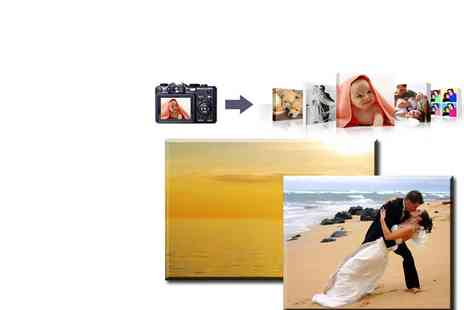 Breath taking Canvas - Personalised Canvas Print 16 x 20 - Save 78%