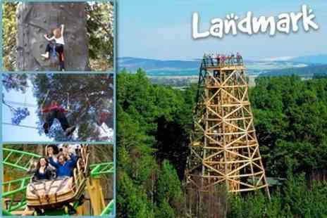 Landmark Forest Adventure Park - Family Day Admission - Save 70%