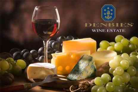 Denbies Wine Estate - Wine and Food Tasting With Vineyard Train Tour For Two - Save 62%