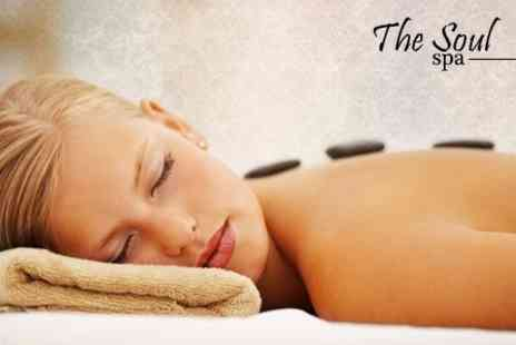 The Soul Spa - Choice of One Hour Massage Such as Hot Stone - Save 62%