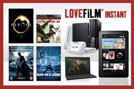 LOVEFiLM - Three Months Unlimited DVDs, Blu Rays, Games and LOVEFiLM Instant - Save 79%