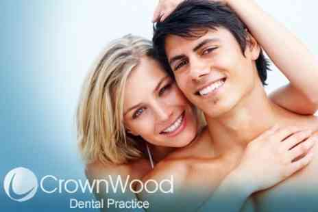 CrownWood Dental Practice - Clear Aligner For Upper or Lower Arch With Retainers - Save 51%