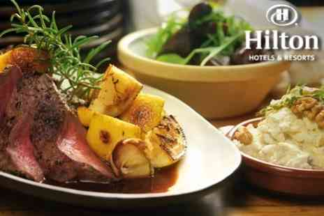 The Hilton Nottingham - Mothers Day or Easter Sunday Carvery Three Courses For Four - Save 51%