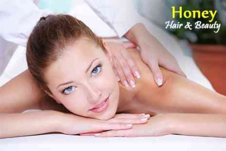 Honey Hair and Beauty - Priori Facial With Massage Plus Light Therapy Facial Treatment - Save 65%