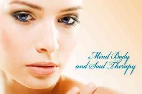 Mind Body and Soul Therapy - Mink Eyelash Extensions With Eyebrow Shape - Save 67%