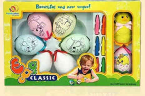 Gorgeous Things - Easter Egg Painting Kit - Save 64%