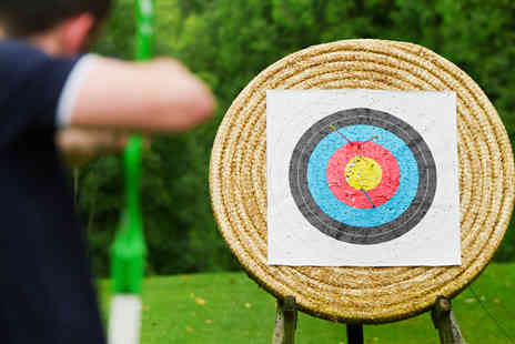 Peckforton Castle - 90 minute archery, falconry and air rifle shooting experience - Save 71%