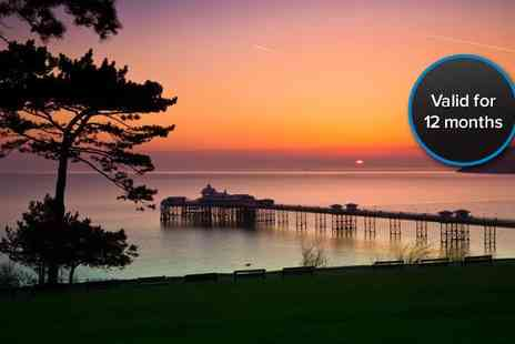 Evans Hotel - Two night Llandudno break for two - Save 60%