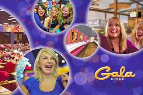 Gala Bingo - Dinner and Drinks For Two - Save 78%
