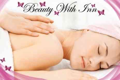 Beauty With Inn - Swedish Massage and Luxury Manicure - Save 60%