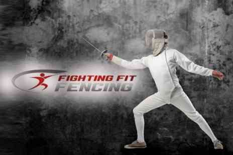 Fighting Fit Fencing - Four Week Beginner Course For One - Save 50%