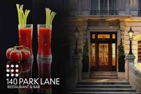 140 Park Lane - Seafood Platter With Bloody Marys For Two People - Save 52%