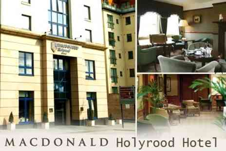 Macdonald Holyrood Hotel - In Edinburgh One Night 4star Stay For Two With Spa Access and Breakfast - Save 44%