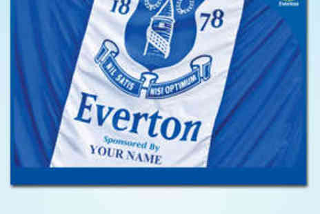 Everton Print Shop - Personalised A3 Everton Poster Including Delivery - Save 50%