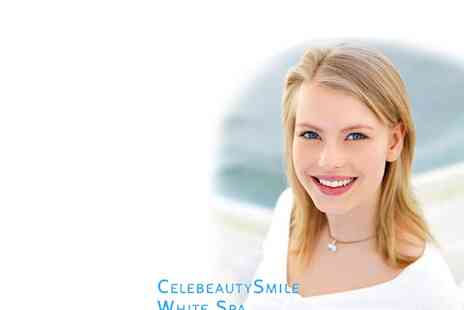 Celebeauty Smile White Spa - Laser Teeth Whitening - Save 74%