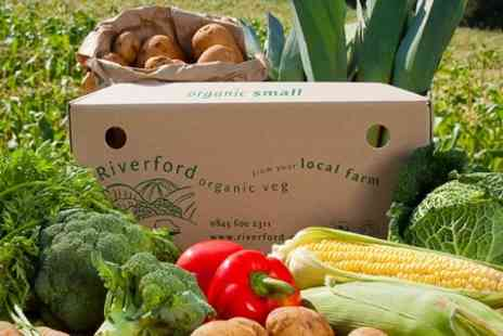Riverford on Sacrewell Farm - Three Mixed Organic Vegetable Boxes - Save 51%