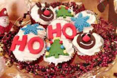 Have Your Cake & Eat It - 12 Christmas Cupcakes - Save 61%