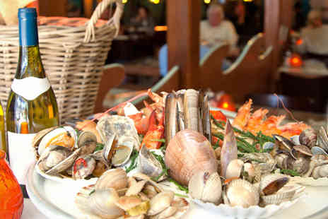 Hilton Tower Bridge - Meal for 2 inc a bottle of Champagne and a seafood platter - Save 56%