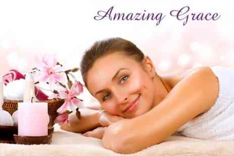 Amazing Grace - One Hour Full Body Massage Plus Mini Facial - Save 52%