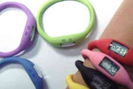 Impact Wholesale - 2 Dida tourmaline and silicone sports watches in a choice of colours - Save 60%