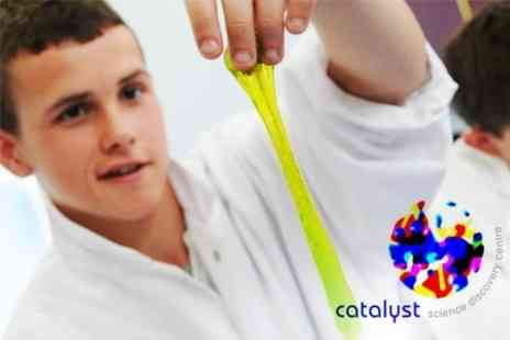 Catalyst Science Discovery Centre - Family Entry and Workshop Admission - Save 50%