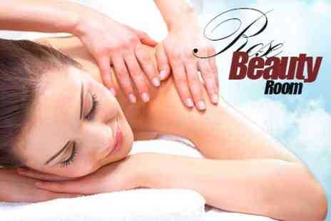 Rose Beauty Room - Back, Neck and Shoulder Massage Plus OPI Manicure or Pedicure - Save 60%
