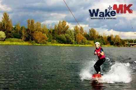 Wake MK - Wakeboarding Two Hour Experience For One - Save 57%