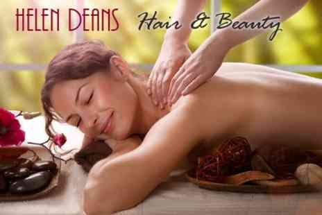 Helen Deans Hair and Beauty - Choice of One Hour Massage - Save 64%
