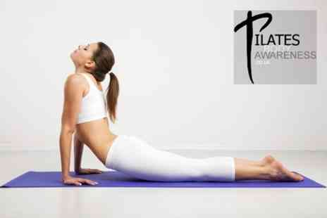 Pilates Body Awareness - Five Pilates Classes - Save 52%