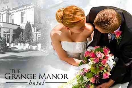 The Grange Manor - Wedding Package For 50 Guests With Breakfast, Wine, Buffet and Honeymoon Suite - Save 33%