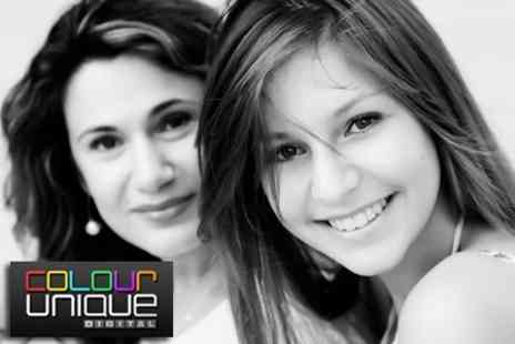 Colour Unique - Mother and Daughter Makeover Photoshoot - Save 97%