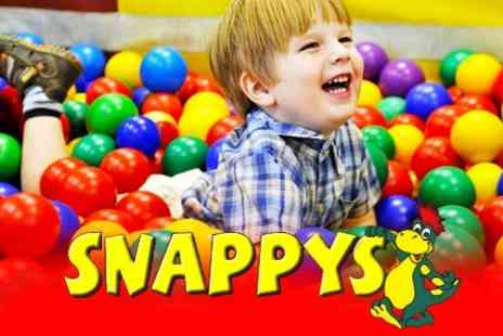 Snappys - Soft Play Family Ticket With Refreshments and Kids Lunch - Save 55%