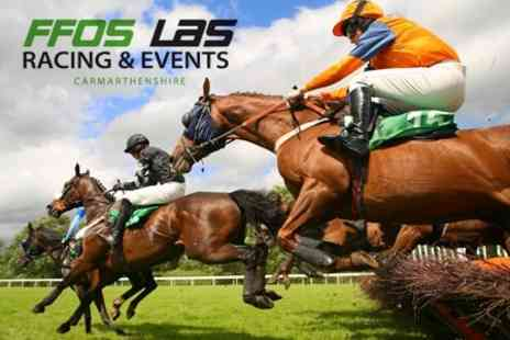 Ffos Las Racing - Horse Racing One Tickets to Six Nations Race Day on 16 March 2013 - Save 43%