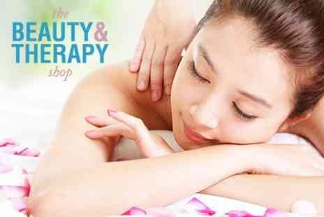 The Beauty and Therapy Shop - Body Wrap and Customised Facial - Save 75%