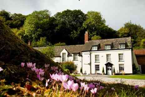Combe House Hotel - In Somerset Two Night Stay For Two With Breakfast and Sparkling Cream Tea - Save 53%