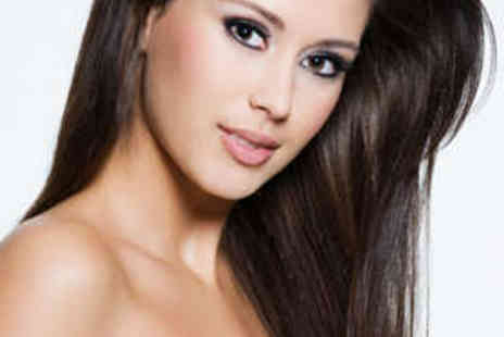 Level Up Hair Design - Haircut, Treatment, and Keratin Blow Dry - Save 73%