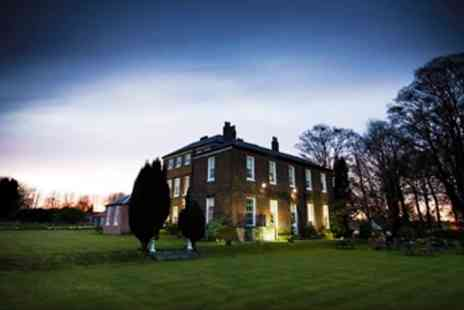 Rowley Manor - Dinner & Bubbly for 2 - Save 54%