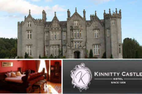 Kinnitty Castle Hotel - Romantic 2 Night Stay for 2 with Room Upgrade, Castle Tour and Treats - Save 51%