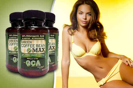 Beauty & Slimming - 1 Month supply of green coffee bean tablets - Save 60%