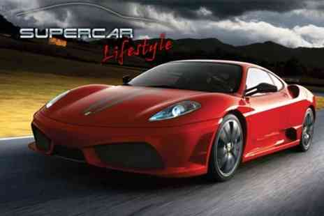 Supercar Lifestyle - Supercar Driving Three Laps in Choice of Cars - Save 6%